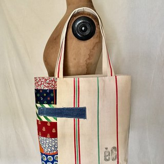 totebag Vintage cotton linen tote bag tf-330
