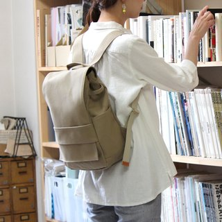 loiter: suble Kurashiki canvas backpack