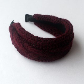 Wine Knitted Headband,Knitting Headband,Fall Hair Band,spring hat,knit