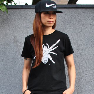 蜘蛛 Spider Tarantula Women's t-shirt Black S M L