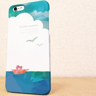 (Free shipping) iPhone case GALAXY case ☆ In The Summer (Summer of memories) Sumahokesu