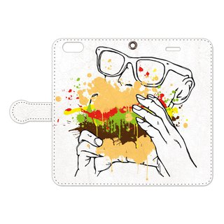 Notebook type iPhone case / Big Kahuna Burger