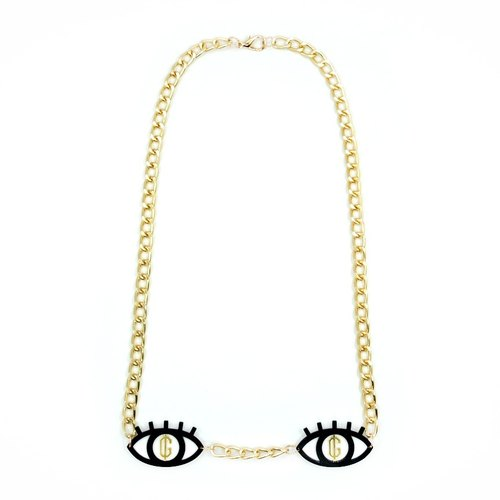 Greed Eyes Necklace