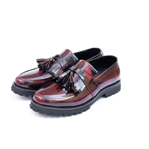 Lady Classic Darkred loafer 2.0