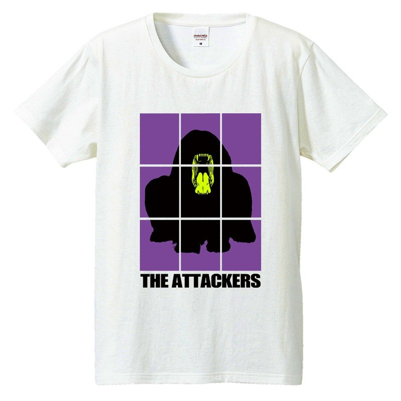 [T-shirt] THE Attackers [Purple]