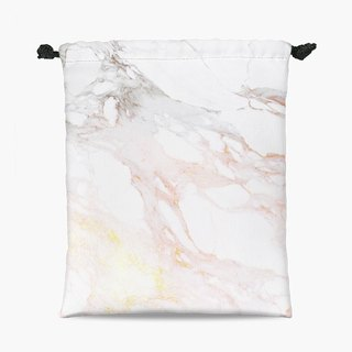 Drawstring Pouch - 束口袋 - Golden Marble