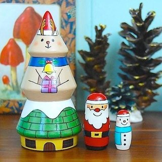 Santa ☆ to your house ☆ Matryoshka [1]