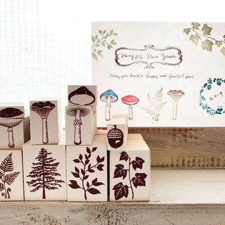 forest stamp set