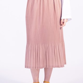 Mermaid Pleated Skirt