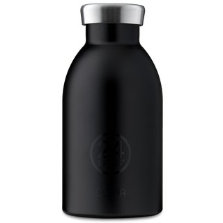 新品 24Bottles - Clima Black (330ml) - 不锈钢保温水瓶