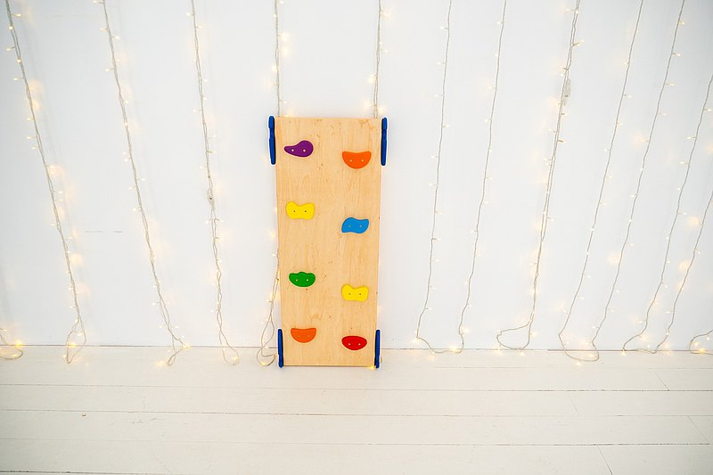 Birthday gift Ladder board first Gifts for kids Montessori baby Pikler ramp