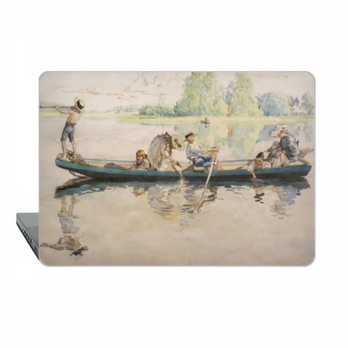 Swedish painter Macbook Pro 11 Larsson Case MacBook Air 13 Case Macbook 15 Retina boat Macbook 12 Macbook case Pro 13 touch bar Case Hard Plastic 1732
