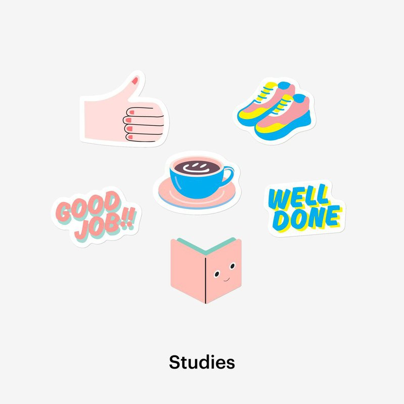 Studies Sticker Pack 贴纸套装