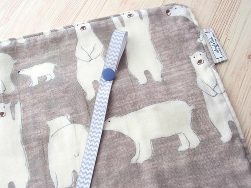Diaper Changing Mat,Rolled Change Pad,Travel Changing Mat,Waterproof,Polar Bear,Portable,Foldable,Boy,Girl,Unisex,Baby Shower Gift