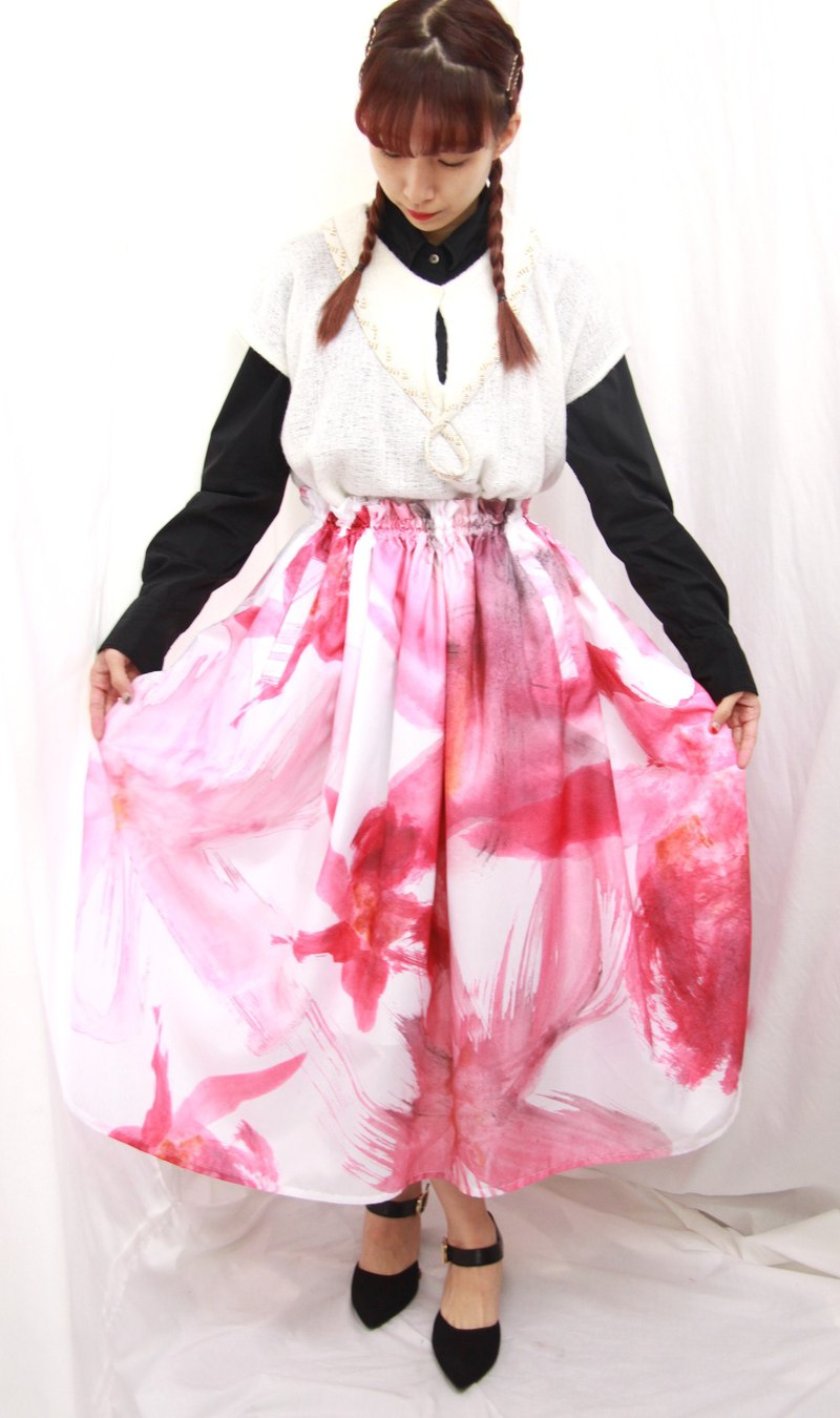 Cherry Blossoms Skirt