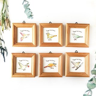 "illustration frame ""Happiness Bird"" 【Please choose a number】"