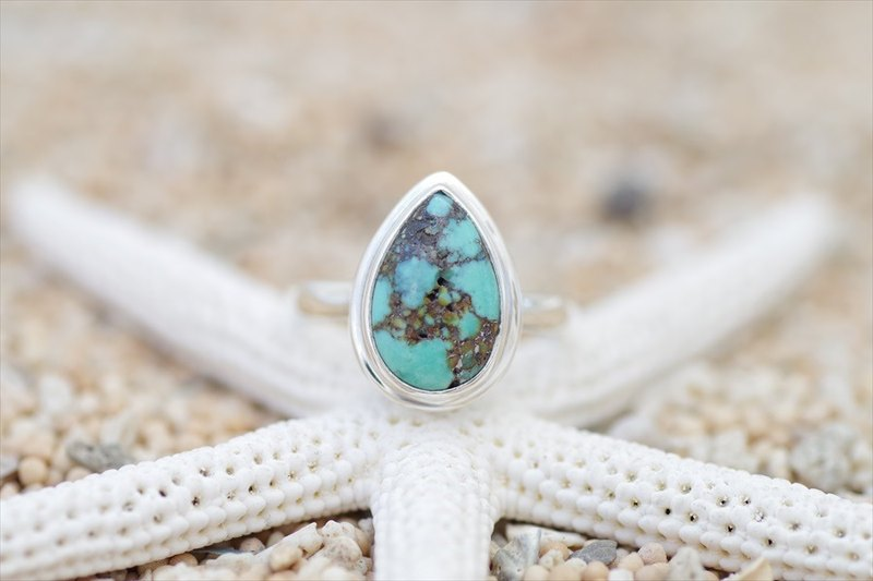 Silver Ring of turquoise