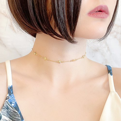 Your Smile Choker Necklace for Star G SV166G