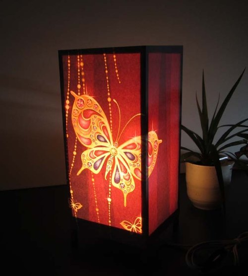 Eternal Butterfly «Dream Light» Serene and Healing Revive! ★ Decorative Stand