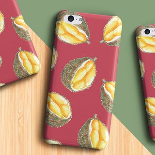 yummy durian - Phone case
