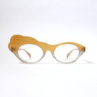 Moku-Moku col.121 (pumpkin / gray) eyewear glasses