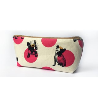 Cute Dog Pencil Case Small Makeup Bag - Back to School