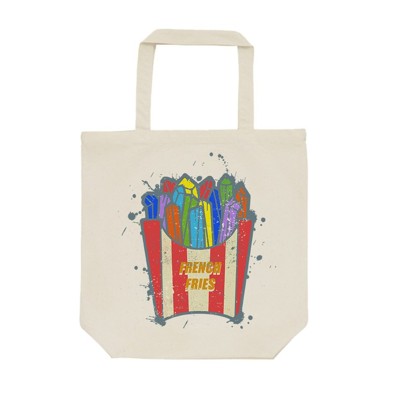 tote bag / Crazy French fries