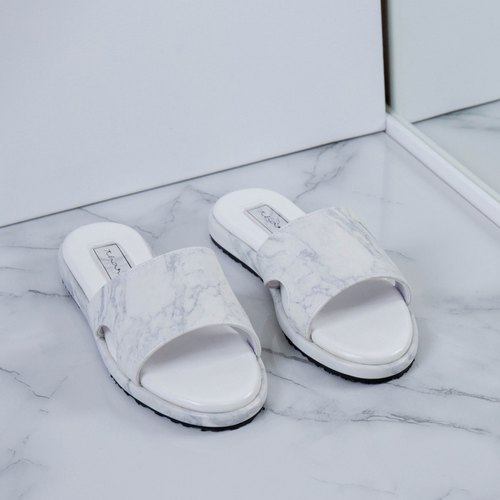Basic sandals - Marble