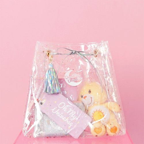 Dear My Universe Candy clear bag