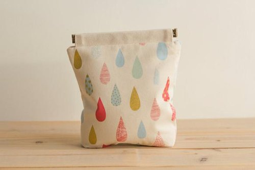Charger case, Cosmetic pouch, Ditty bag, Make-up Case, Travel pouch, Mouse case / Dew Drop Cream