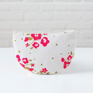 Curvy Pouch L - Rose