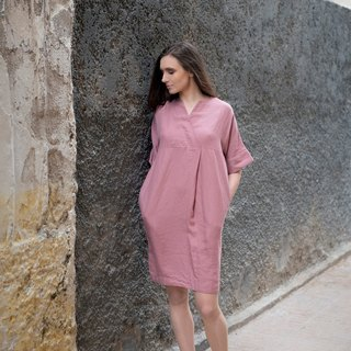 Linen Dress Motumo 16S7