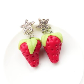 Strawberry earring 112