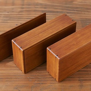Bamboo box wiping lacquer small (lunch box) | lid | bamboo box parts (C)
