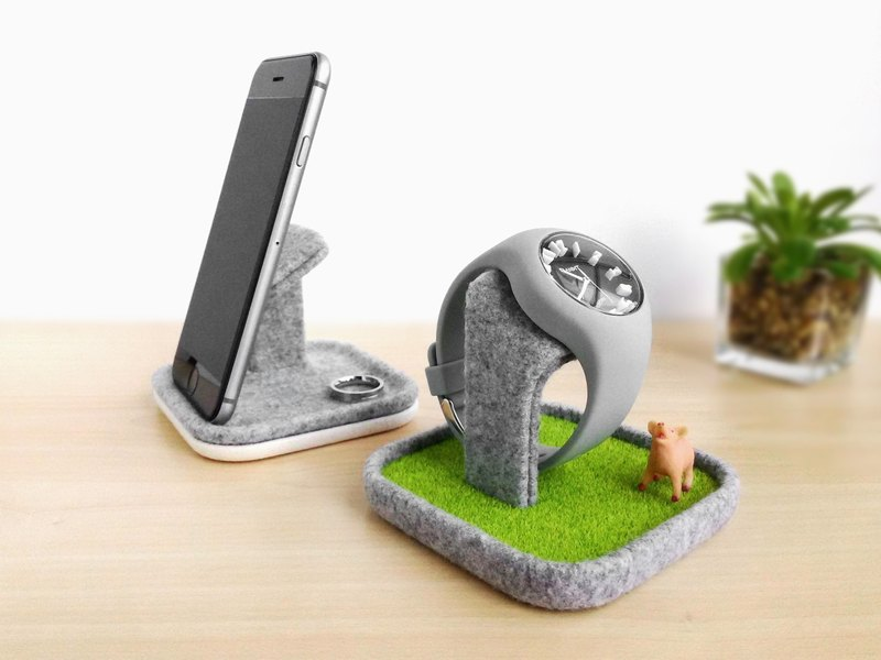 multifunctional tray, Watch stand display box holder case, Smartphone stand