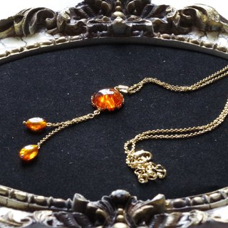 Baltic pendant of amber (natural amber)