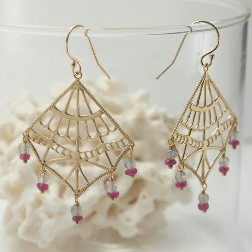 ishtar earrings (earrings) type 4 [FP242-2]