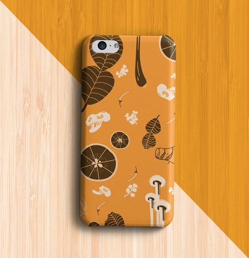 Tom-Yum soup Mustard Phone case