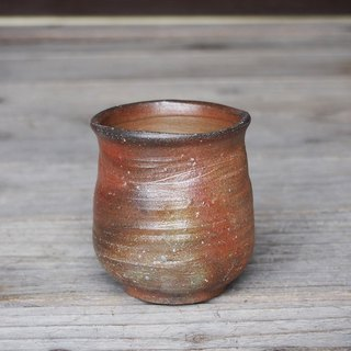 Bizen tea ceremony (large) 【Round eyes】 y6-016