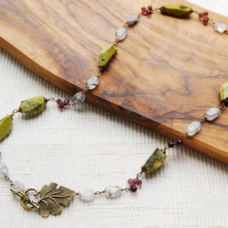 Mountain grape necklace