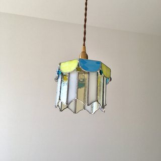 Pendant light Dreaming Night yellow turquoise Bayview