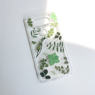 光合作用::草木绿 真花IPHONE手机壳pressed flower phonecase