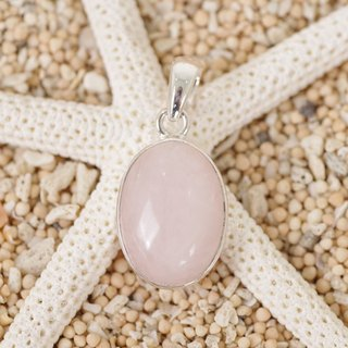 Rose Quartz pendant top