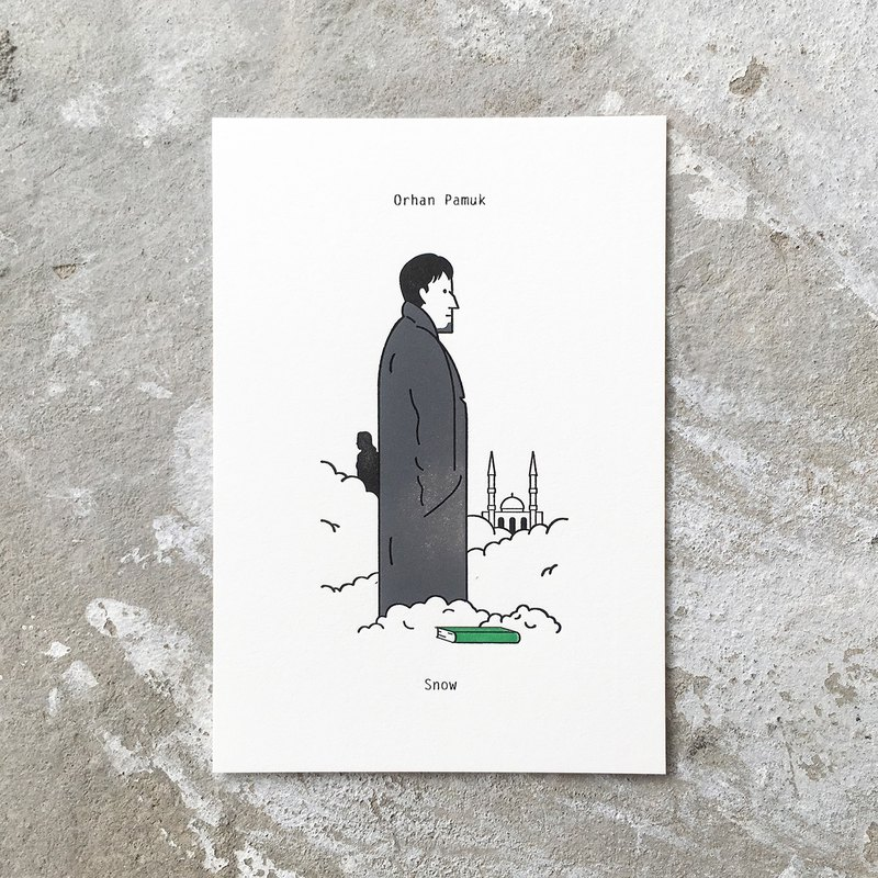 Snow : Limited Edition Letterpress Card