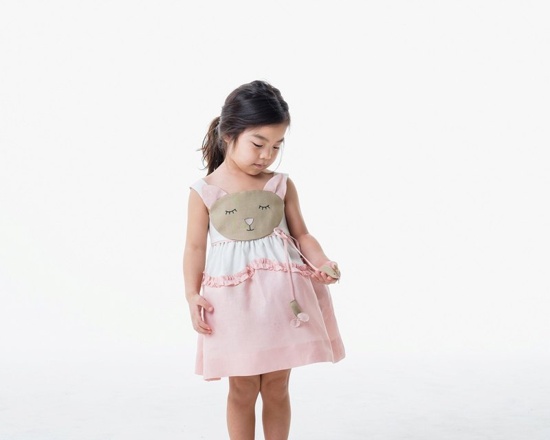 Girls Cat and Mouse Dress