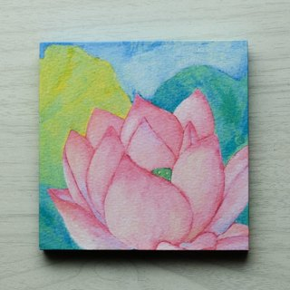 "Mini Panel No. 65 ""Water Lilies"""
