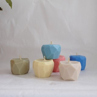 c o l o r | 单 色 香 氛 cubes组 scented candles set 6入