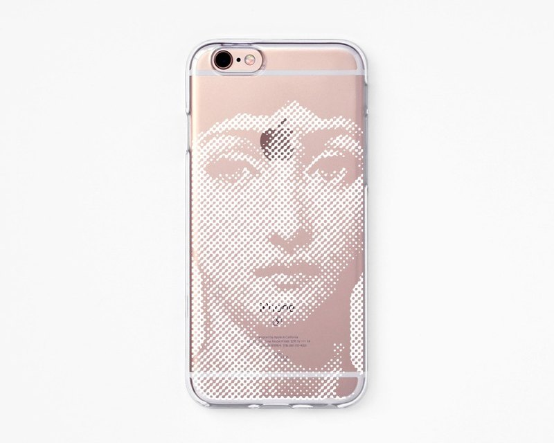 iPhone Case - Victorian Women for iPhones  -Clear Flexible Rubber TPU case