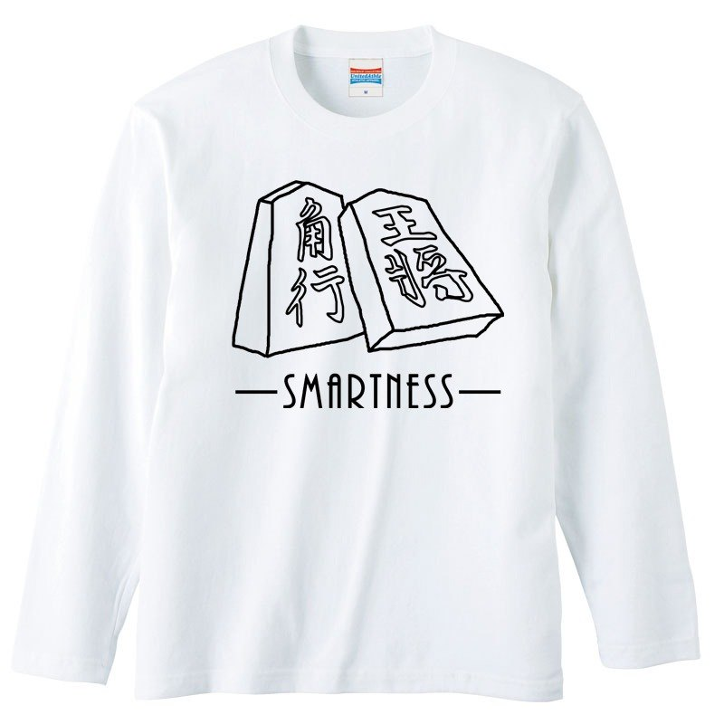 [Long sleeve T-shirt] Smartness Shogi