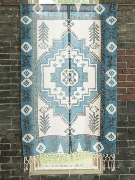 Printed Kilim Pattern NOREN Blind Curtain